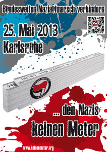 Den Nazis keinen Meter!