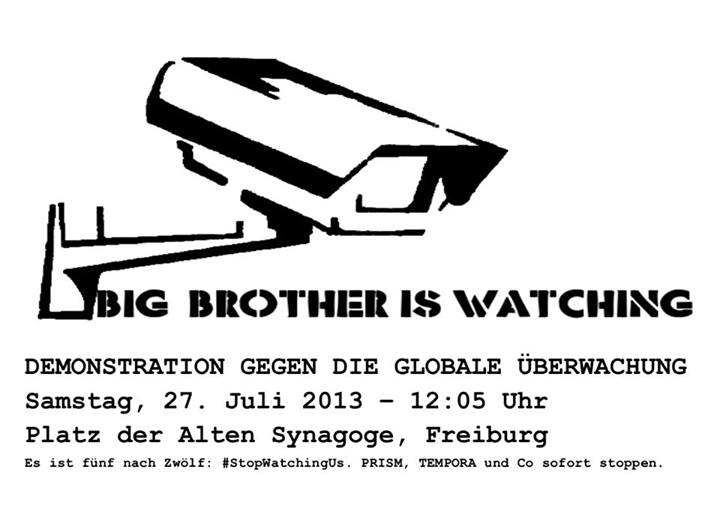 Überwachung Stoppen!